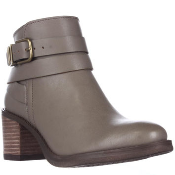 Lucky Brand Raisa Ankle Booties, Brindle, 6.5 US / 36.5 EU