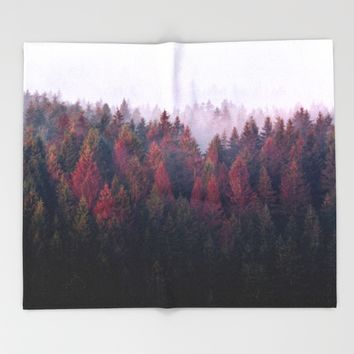 The Ridge Throw Blanket by Tordis Kayma | Society6