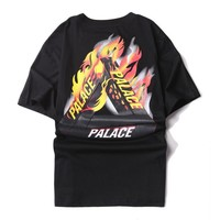 Boys & Men  PALACE Print Short Sleeve Tunic Shirt Top Blouse