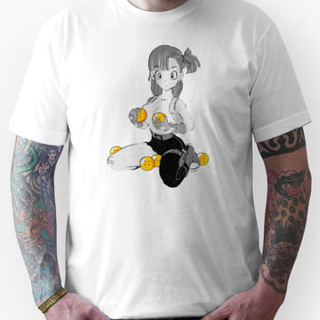 Bulma with dragon balls Unisex T-Shirt