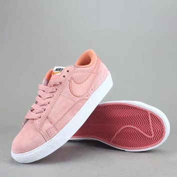 Nike Blazer Low Prm Vntg Women Men Fashion Low-Top Old Skool Shoes-6
