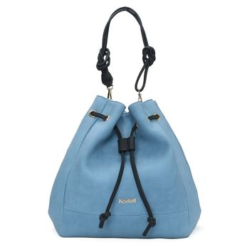 Kadell Women PU Leather Bucket Bags Hobos Handbags