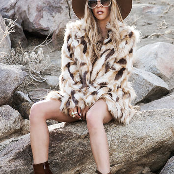 FAUX YEAH FUR JACKET