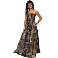 Camo Long Gown | Realtree.com | Free Shipping