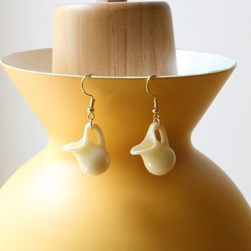 Retro Milk Jug Earrings