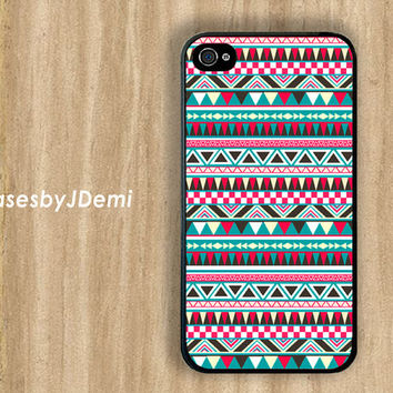 Tribal iPhone Case, Bohemian iPhone 5 Case, Tribal iPhone4s Case, Girls iPhone Case, Pastel iPhone Case, Neon iPhone Case, Bohemian  Economy