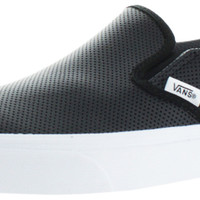 Vans Perf Leather Women's Slip On Sneakers