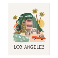 Los Angeles Art Print by RIFLE PAPER Co. | Made in USA