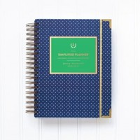 Emily Ley 2015 Simplified Planner in Navy Blue