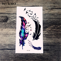 10.5x6cm New sex products Design Fashion Temporary Tattoo Stickers Temporary Body Art Waterproof Tattoo Pattern RC2239 WU&MO