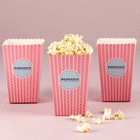 Popcorn Boxes Red Hearts – Set of 12