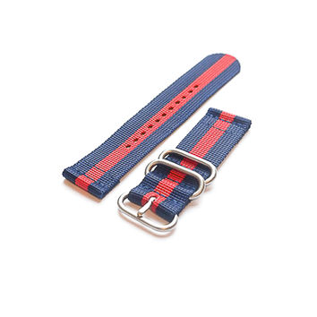 Smart Watch Strap Navy and Red