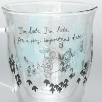 Alice in Wonderland Double Wall Glass Mug Cup Afternoon Tea Japan Disney - VeryGoods.JP