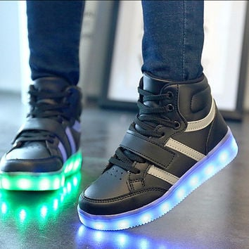 LED Light Rechargeable Shoes