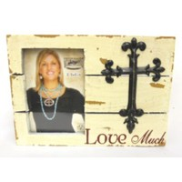 Western Moments Shadow Box Picture Frame Love Much 3.5 x 5 Western Picture Frame