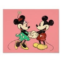 Vintage Mickey Mouse & Minnie Posters