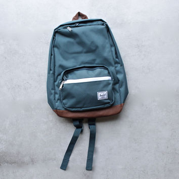 herschel supply co. - pop quiz backpack | mid volume - indian teal