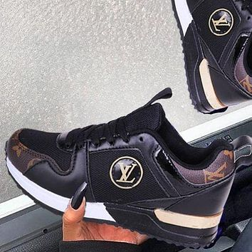 Louis Vuitton LV Fashionable Women Men Leisure Sport Shoes