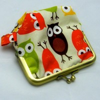 Silly Coin Purse - Owls | Luulla