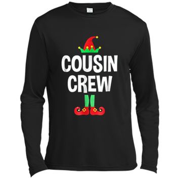 Cousin Crew - Elf  - Family Matching Christmas Pajamas Long Sleeve Moisture Absorbing Shirt
