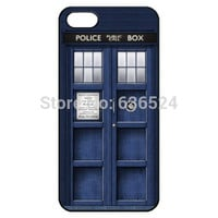 Tardis Call box Doctor Who POLICE BOX Hard Back Cover Skin For Iphone 4 4s 5 5s 5c 6 6s 6plus 6s plus tvi