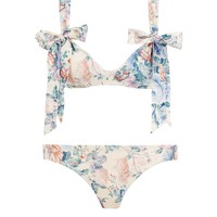 Verity Scoop Tie Bikini