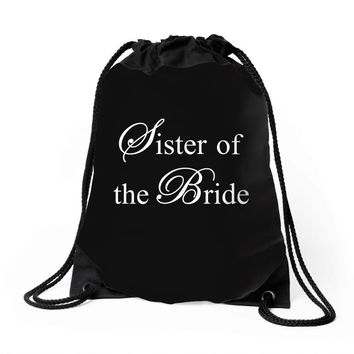 Sister of the Bride Drawstring Bags