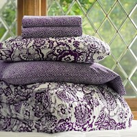 Florennia Bedding Bundle, Plum