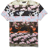 Givenchy - Oversized Panelled T-Shirt | MR PORTER