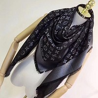 Perfect Louis Vuitton Women Silk Scarf Shawl Scarf