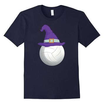 Volleyball Witch T-Shirt Funny Sports Halloween Shirt