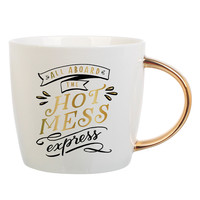 "SLANT COLLECTIONS ""ALL ABOARD THE HOT MESS"" MUG"