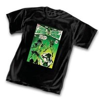 The Green Lantern vs Green Arrow Comic Strip Black Adult T-shirt  - The Green Lantern - | TV Store Online