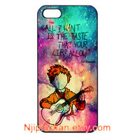ED Sheeran Galaxy Custom For iPhone 4, 4s, 5, 5s, 5c and Samsung Galaxy S3, S4 Case