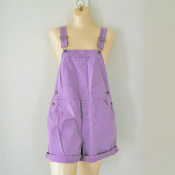 90s Overall Shorts Womens Overalls Womens Shortalls Womens Dungaree Shorts Bib Overalls Over Alls 90s Overall Salopette Bathing Suit Cover