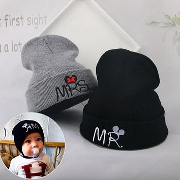 403030a753f baby Winter Hats Boys Girls Knitted Warm Baby Hats Cap Baby bean