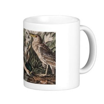 Black Crowned Night Heron Coffee Mug