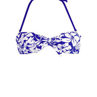 Tie front bandeau & Long Side Tie Hipster