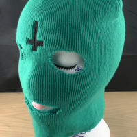 Ofwgkta Odd Future Tyler The Creator - Ski Mask - Balaclava With Professionally Embroidered Cross