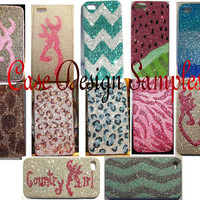 Glitter Otterbox iPhone 4/4S and 5 Cell Phone Case