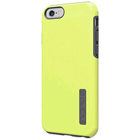 Incipio DualPro Case Cover for Apple iPhone 6 (Lime/Gray)