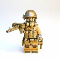 Tactical Army Military Soldier Figurine Hand Painted Building Blocks