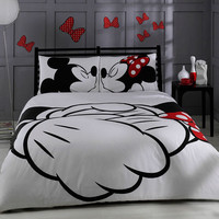 Disney, Mickey & Minnie, Adore, bedding set, double