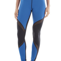 Michi Supernova Ocean Blue Leggings | High End Activewear Leggings