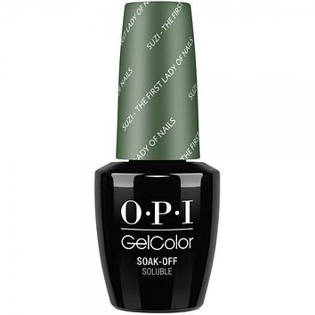 OPI GelColor- Suzi The First Lady of Nails 0.5 oz - #GCW55 (Original Bottle Design)