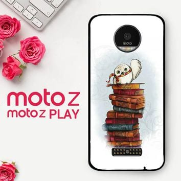 Hedwig Harry Potter Owl X4756  Motorola Moto Z Play Case