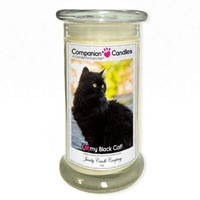 I Love My Black Cat! - Pet Photo Companion Candles - Pet Lover Gifts
