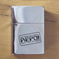QQ810 All New Repo The Genetic Opera Polished Chrome Finished Lighter