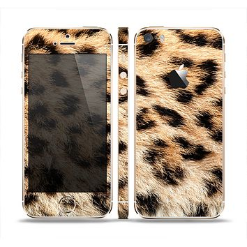 The Real Cheetah Animal Print Skin Set for the Apple iPhone 5s
