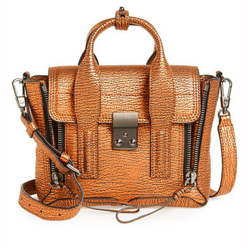 3.1 Philip Lim Mini Pashli Copper Satchel